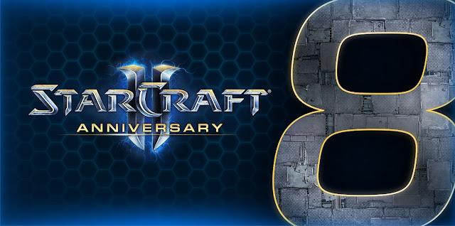 Starcraft 2 celebra su octavo aniversario!