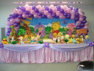 Birthday decoration ideas interior decorating idea for 1st birthday hall decoration