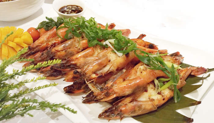 Grilled Seafood Shrimp