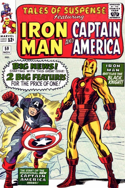 Tales of Suspense #59, Iron Man, Captain America