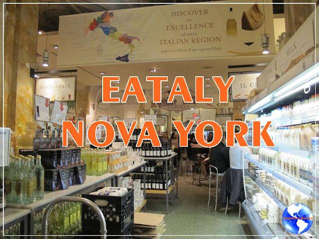 Eataly Nova York em vídeo!