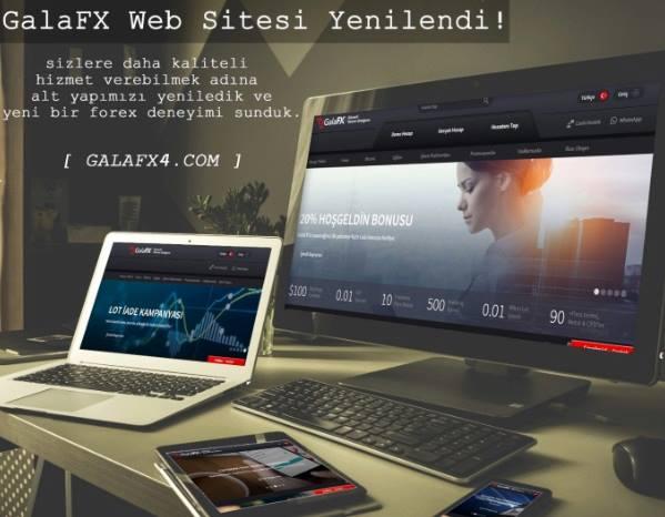GalaFX Yenilendi