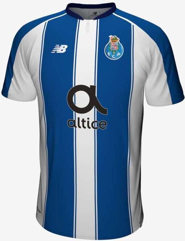 Memória Portista  Camisola do Equipamento Principal do FC Porto para ... 24e7e5bb2adc7