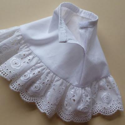 Opening of petticoat