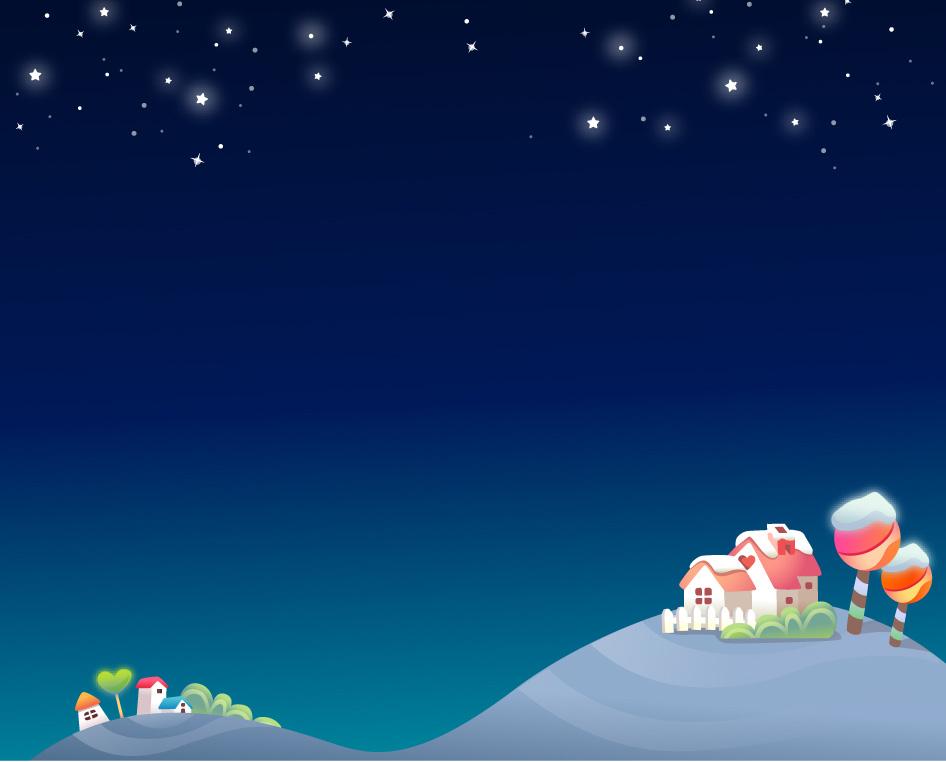 Sweet night ppt background