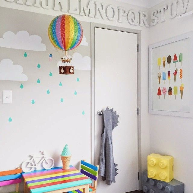 Rainbow Themed Room: The Boo And The Boy: Kids' Rooms On Instagram
