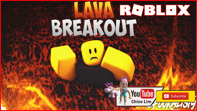 Roblox Lava Breakout Gameplay - sort of floor is lava, minigames and obby all combined