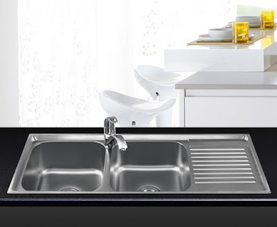 Bồn rửa chén inox Sơn Hà S105
