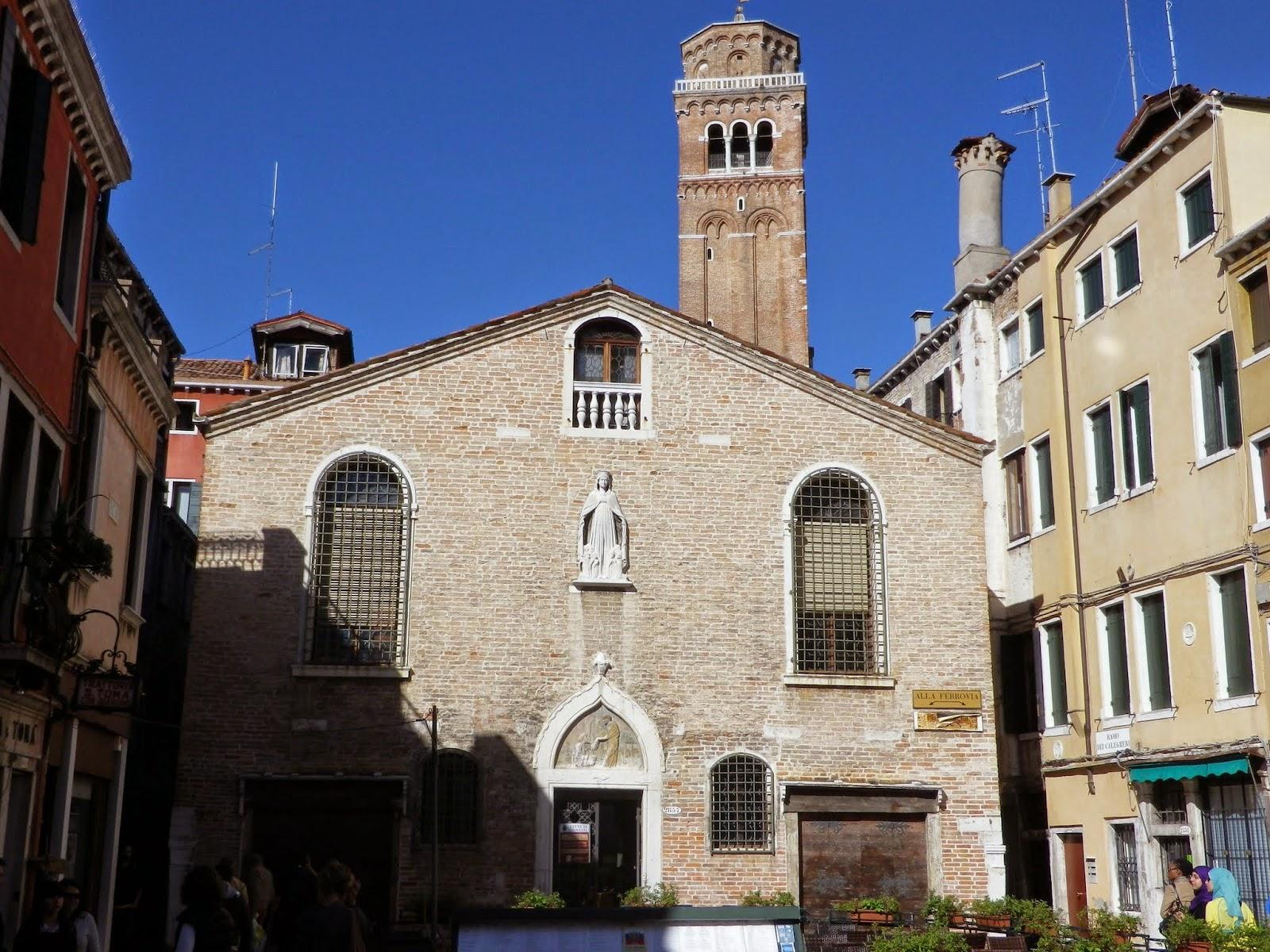 The Scuola dei Calegheri in Venice.