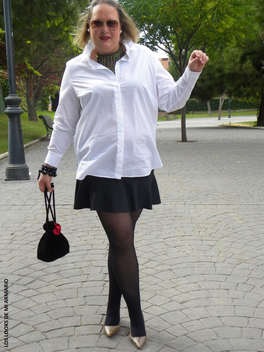 Camisa Blanca Look Y Guia De Compras Talla Grande Los Looks De Mi Armario