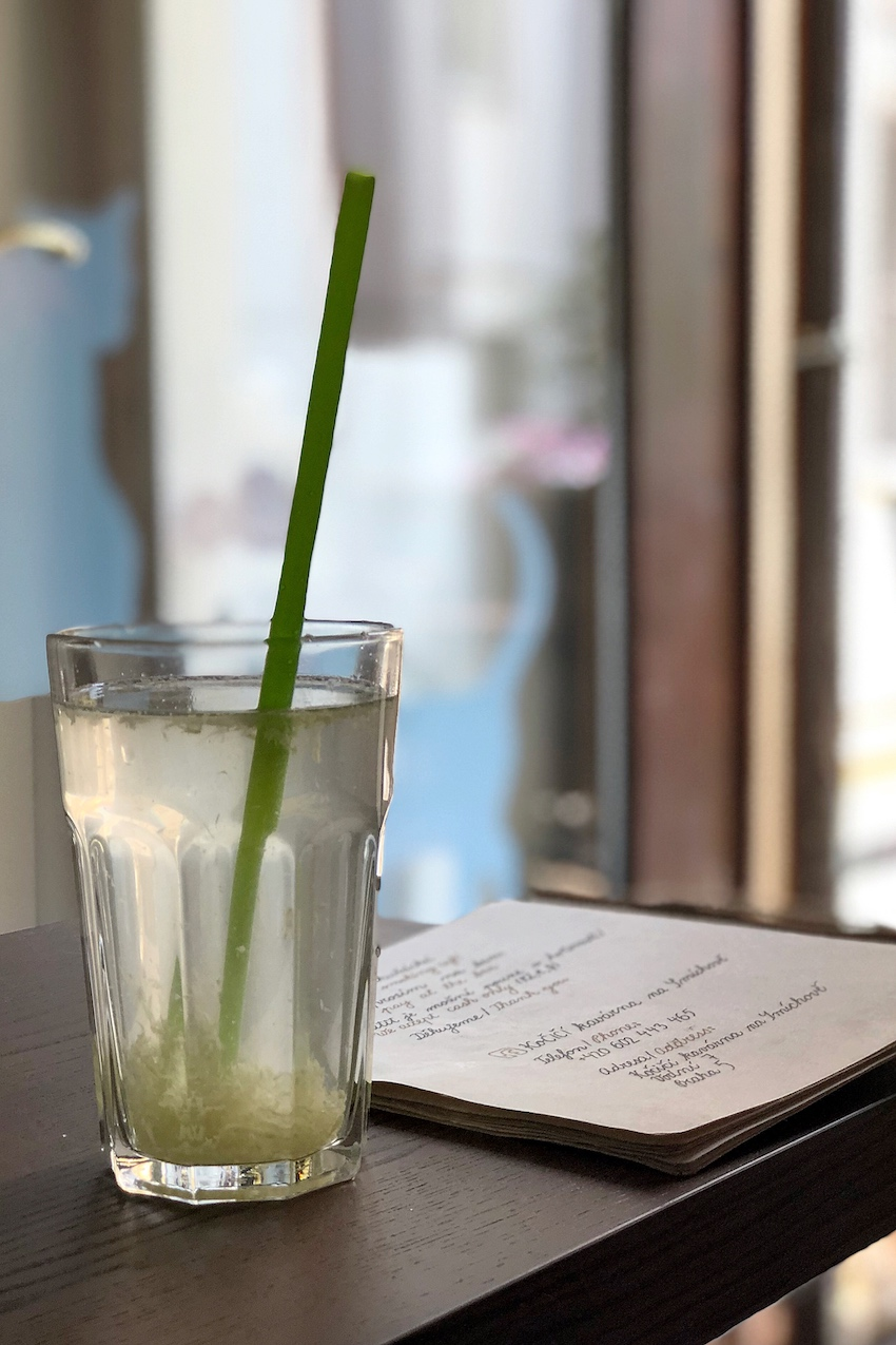 Cat Café Prag drink