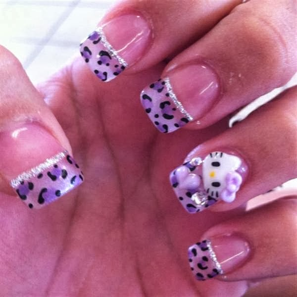 Fashionable Nail Art Ideas: Fabulous Hello Kitty 3d Nail Art