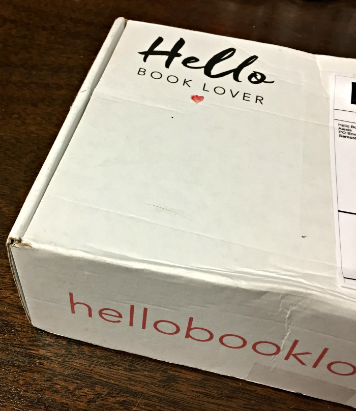 Hello Book Lover - subscription box perfect for book lovers!