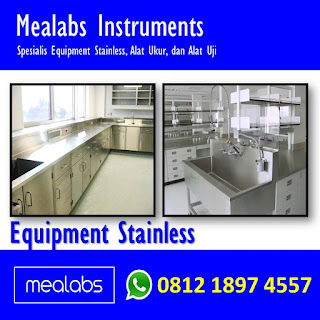 Peralatan Stainless Steel Untuk Lab