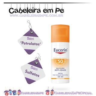 Sun Fluido Anti-idade FPS 50 - Eucerin (Sem Petrolatos)