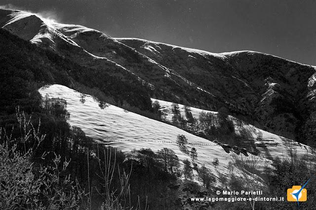 Valle Veddasca con la neve