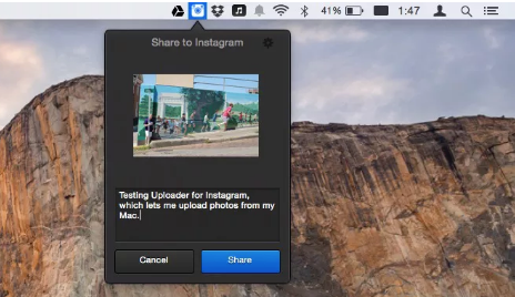 How to Post Pictures on Instagram From Mac