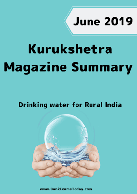 Kurukshetra Magazine Summary: June 2019