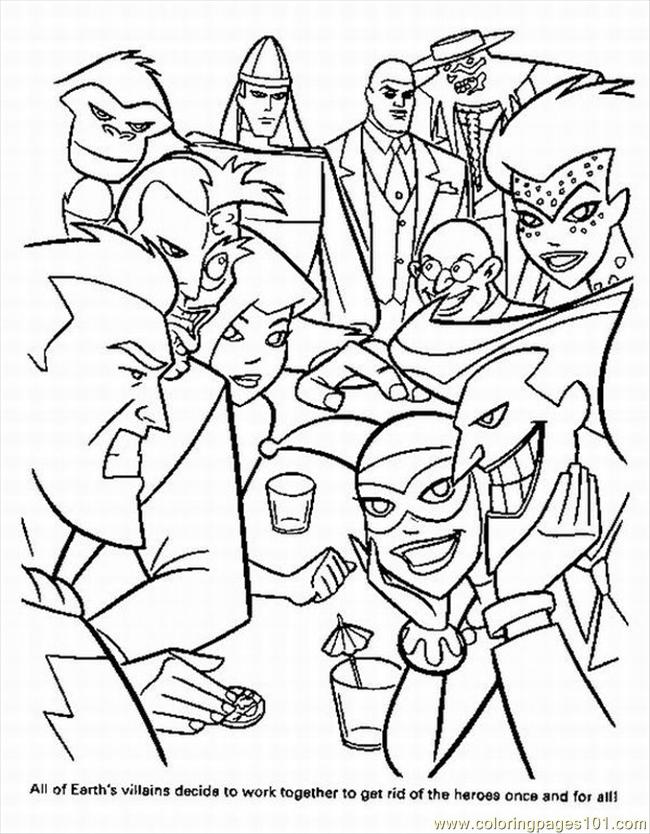 Free printable super heroes coloring pages ~ Superhero Printable Coloring Pages