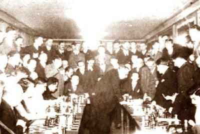 Simultáneas de Efim Dmitriyevich Bogoljubov en 1932 en el Schachklub Hietzing