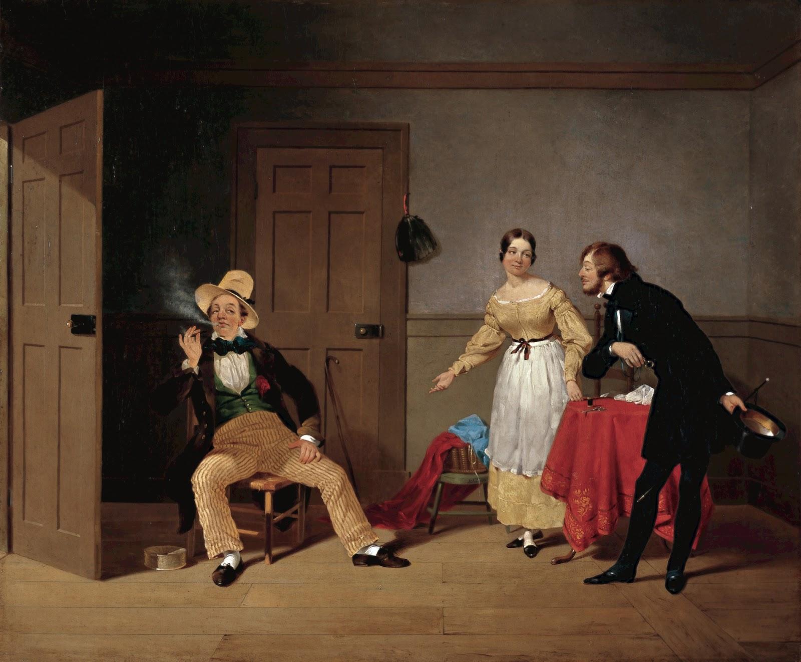 19th Century American Paintings Francis William Edmonds