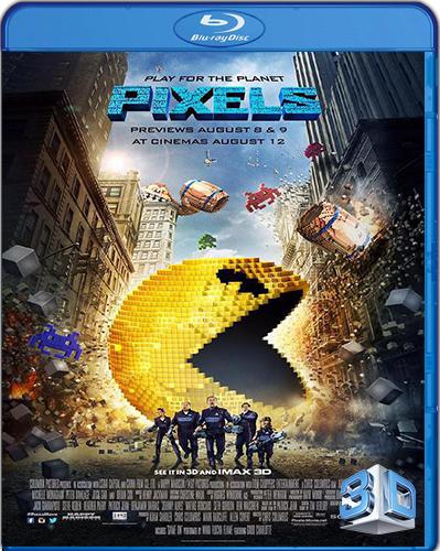 Pixels [2015] [BD50] [Latino] [3D]