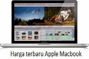 Daftar Harga Terbaru Apple Macbook