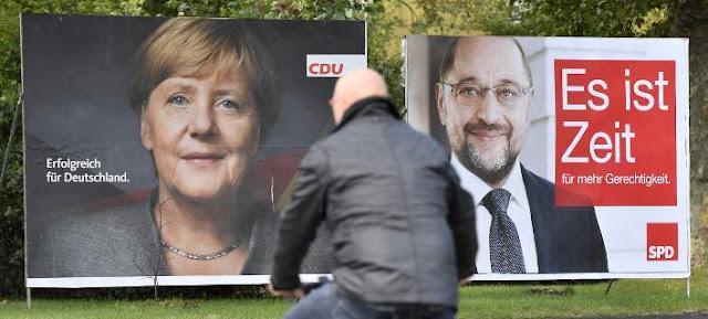 Γερμανικές εκλογές: Μέρκελ για 4η θητεία στην Καγκελαρία