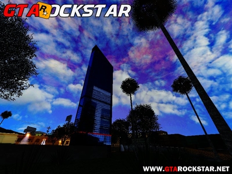 Skyscraper HD Mod (Ceú Super Realista) para GTA San Andreas