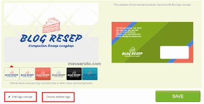 Cara Membuat Logo secara online dengan menggunakan Logaster