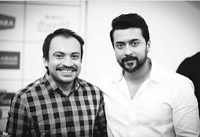 Actor_Surya_With_Soubin_Shahir_Images