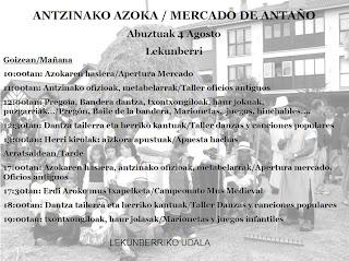 f428703a2ec MERCADO DE ANTAÑO EN LEKUNBERRI
