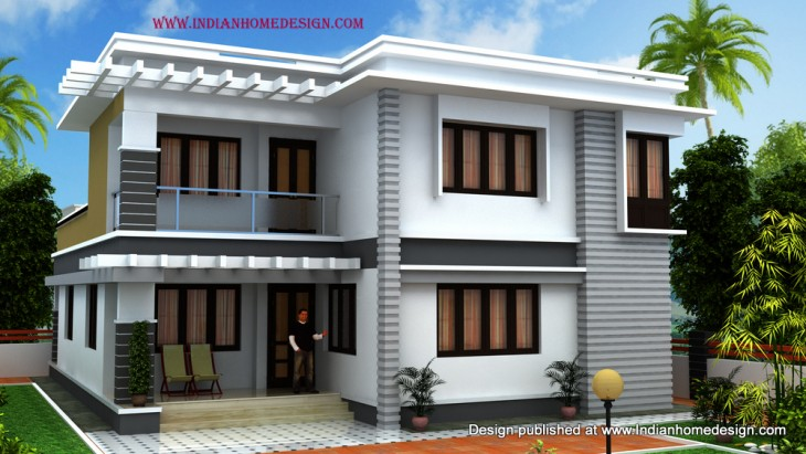 South indian house plans free house design plans for Home front design model