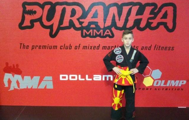 Macedonian Wunderkind Kristijan Vodenski Conquers Wrestling Arenas