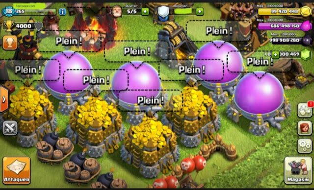 Clash Of Clans Mod Menu