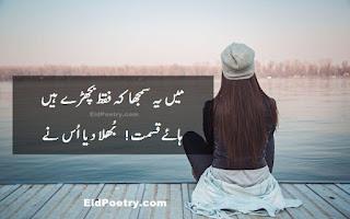 Main Ye Samjha Ke Faqat Bichre Hain