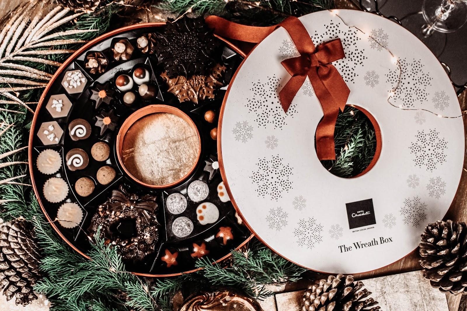 Hotel Chocolat Christmas Collection 2018 Wreath In A Box