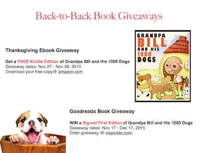 Back-to-Back Book Giveaways