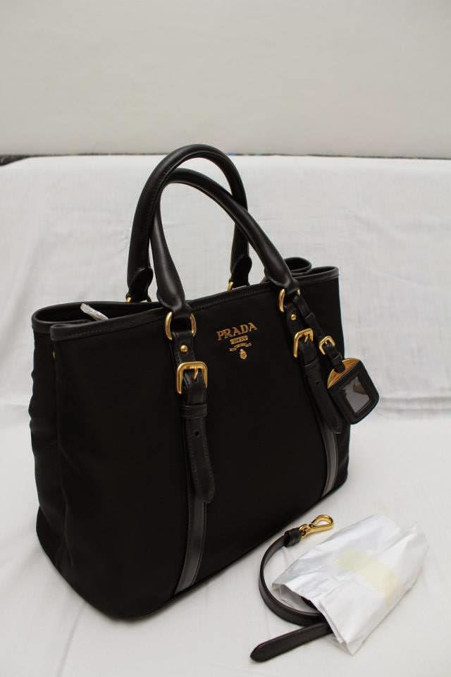 306012bf0b7b purchase prada br4992 tessuto nylon convertible bag black silver hardware  9f735 fb8f9; usa prada bn2832 tessuto nylon tote black 1c594 c38cb