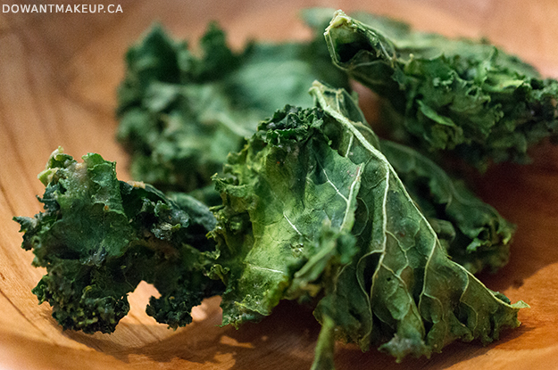 Commodity Juicery Vancouver Kale Chips