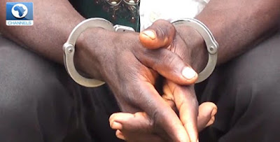 Arrest police 650x330 - 9JA NEWS: Zimbabwean Pastor Arrested During Church Service