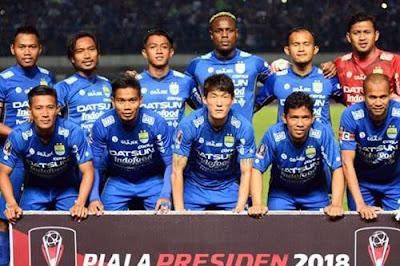 merupakan klub sepakbola pujian masyarakat kota Bandung Daftar Skuad Pemain Persib Bandung 2018 Terbaru