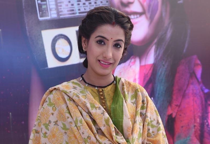 Actress Shruti Sharma as Nimrat in show Kullfi Kumarr Bajewala