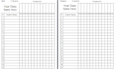 Grading Template. gradebook template for excel free teacher grade ...