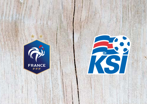 France vs Iceland Full Match & Highlights 25 March 2019