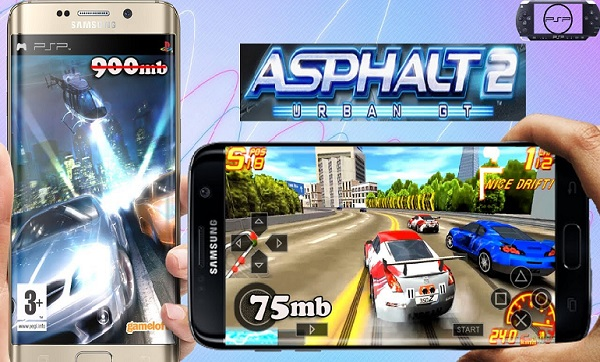 Download Asphalt Urban GT 2 iSO Android PPSSPP GamePlay