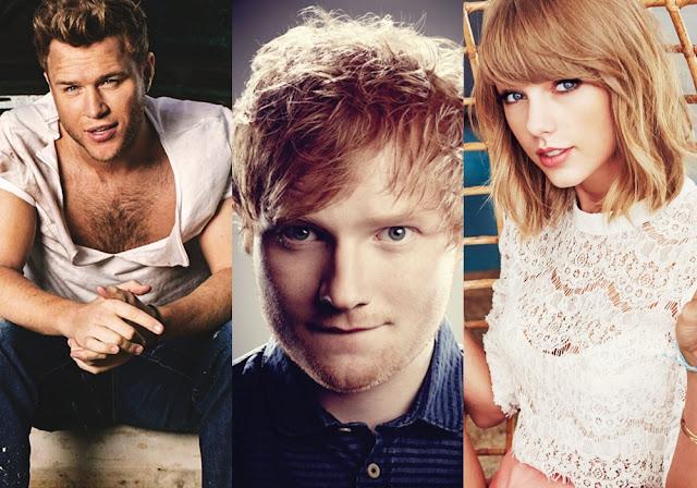 Lista de los artistas y temas más escuchados en el Reino Unido en 2015