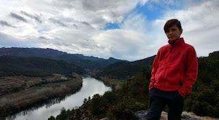 Vistas del Ebro desde el Castillo.