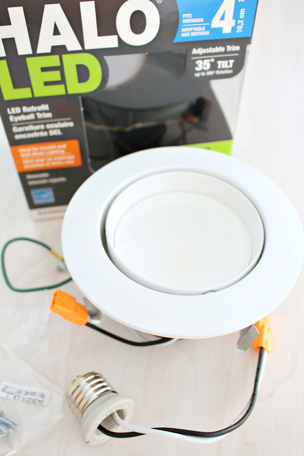 how to update pot lights without kitchen fluorescent light covers Halo LED Retrofit Pot Light Kit Review