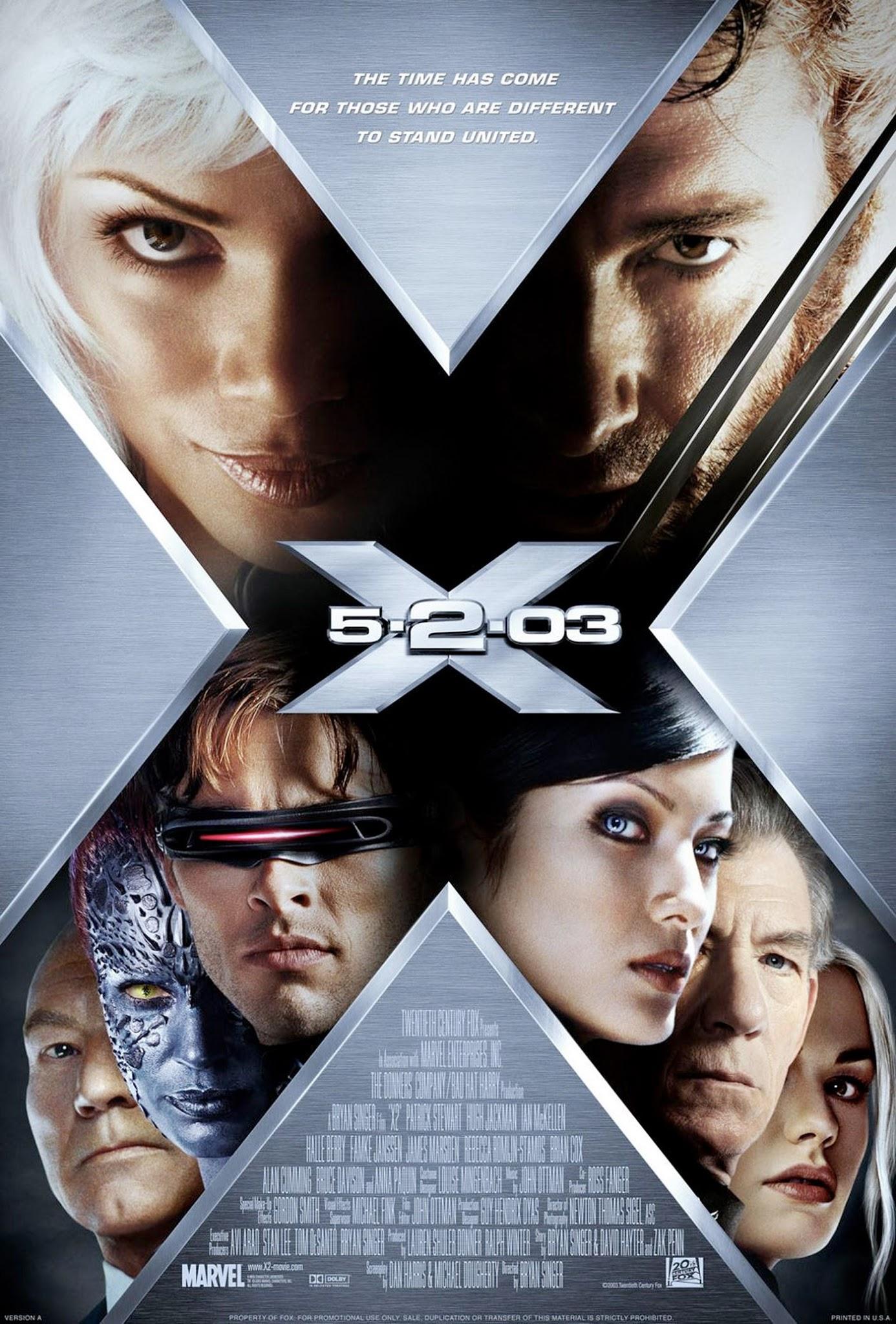 x-men 2 film recenzja wolverine magneto mystique